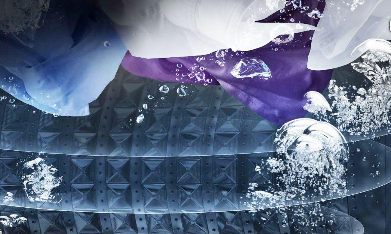 Bezpieczne pranie kolorowych ubrań, dzięki programowi EcoMix 20 w pralce Candy CS31052D2
