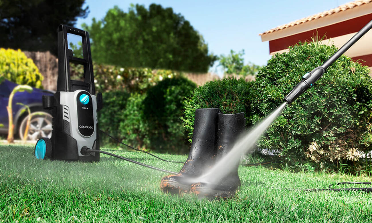 Myjka ciśnieniowa z dalekim zasięgiem działania Cecotec HidroBoost 1400 EasyMove