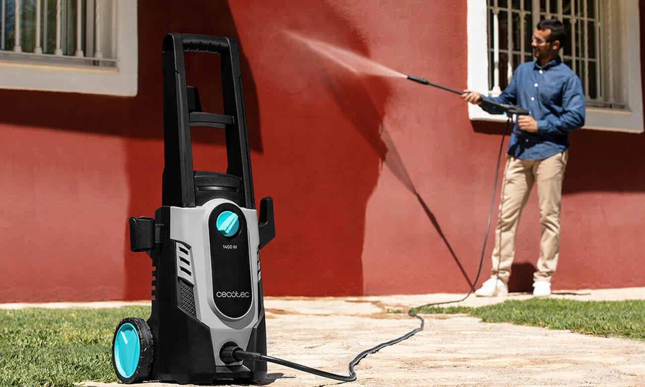 Myjka ciśnieniowa z kołami Cecotec HidroBoost 1400