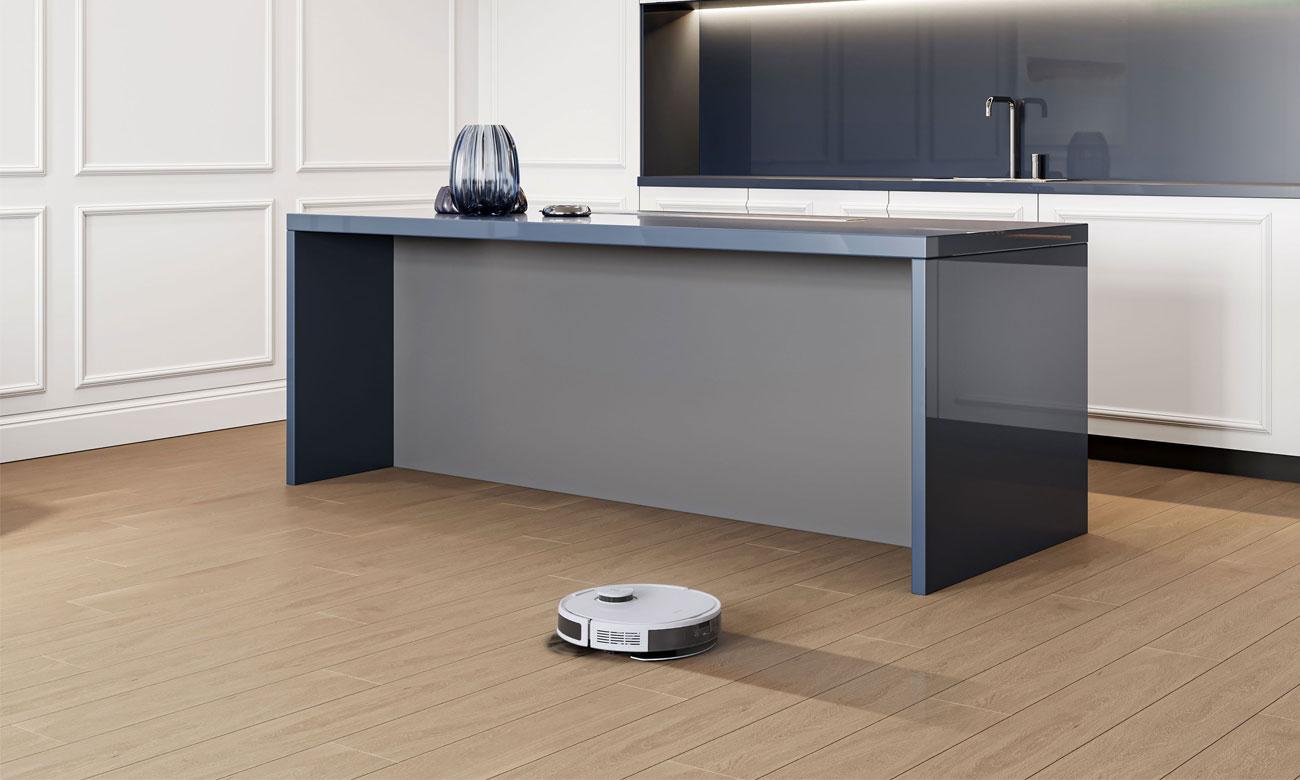 Technologia zmywania OZMO™ w robocie sprzątającym Deebot N8 Pro+