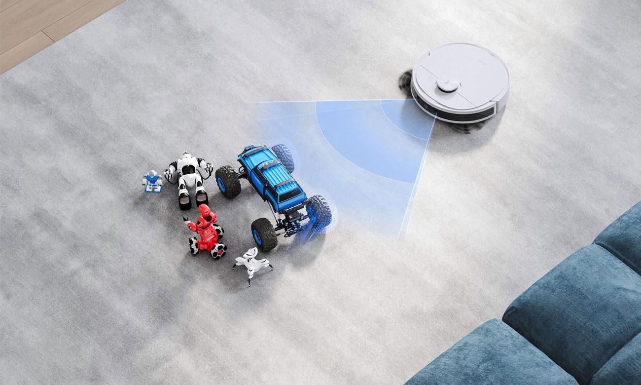 Technologia TrueDetect 3D w Deebot N8 Pro