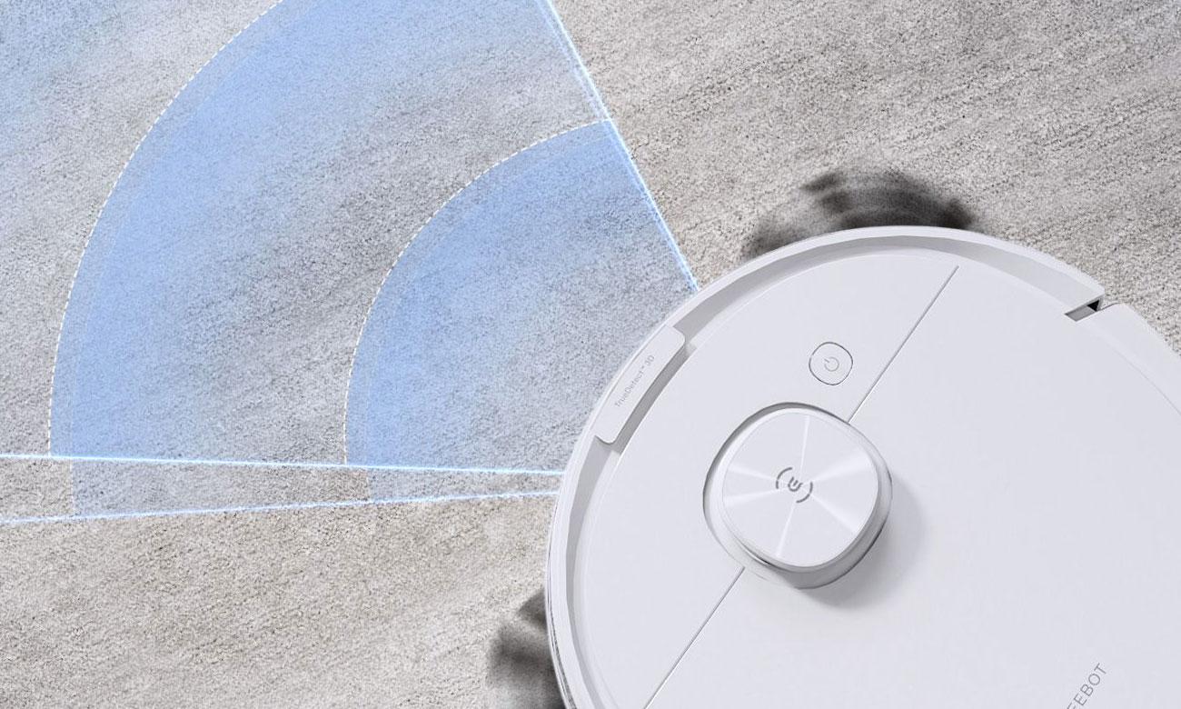 Technologia TrueMapping w robocie odkurzającym Ecovacs Deebot N8 Pro+