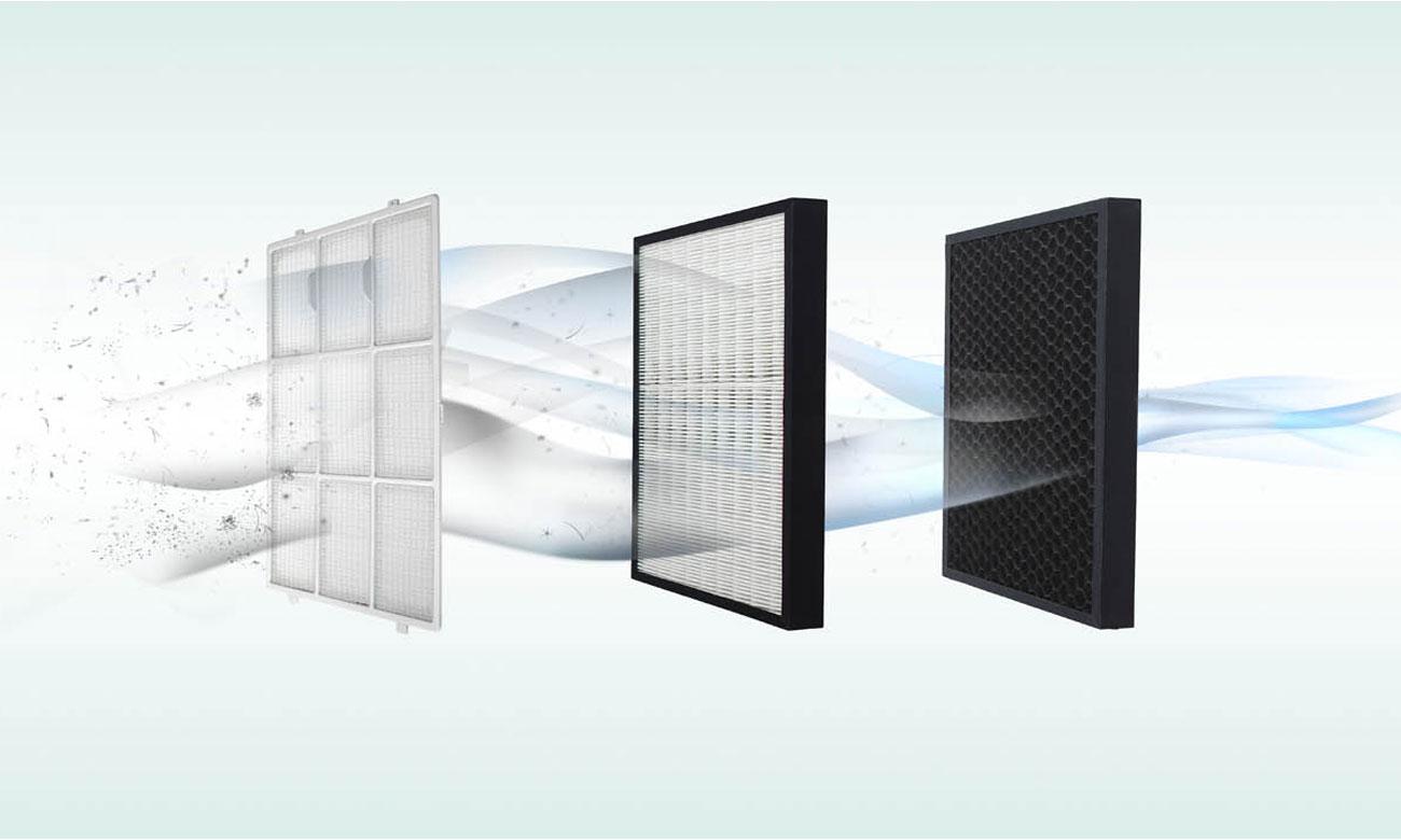 Filtry oczyszczacza  DeLonghi AC 100