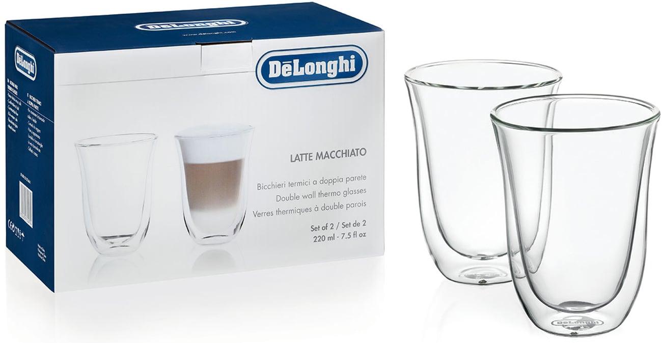 Szklanki DeLonghi DBWALLLATTE 2 GLASS LATTE 220ML