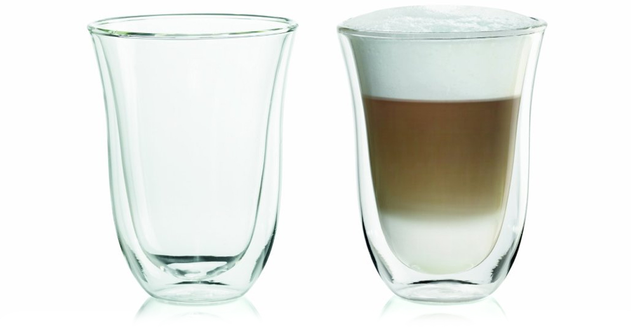 filiżanki do latte macchiato DeLonghi DBWALLLATTE
