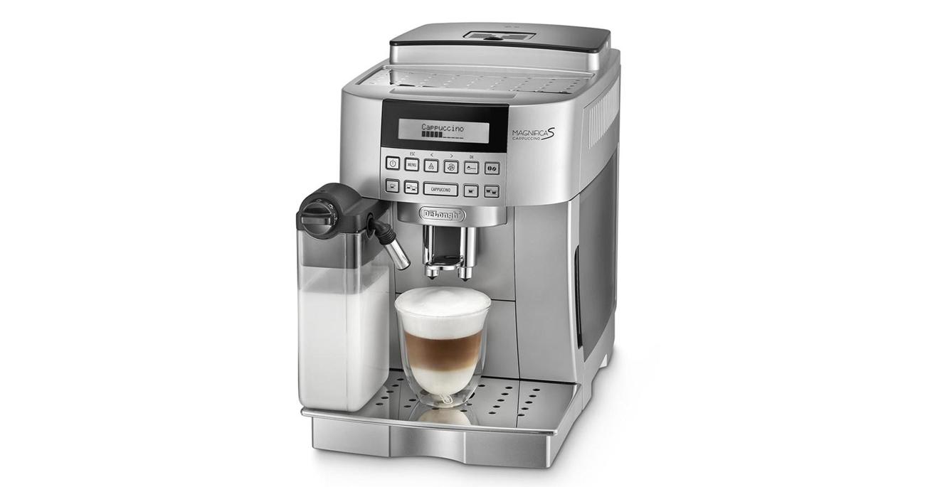 Ekspres do kawy DeLonghi Magnifica S ECAM 22.360S 1450W 15 bar srebrny