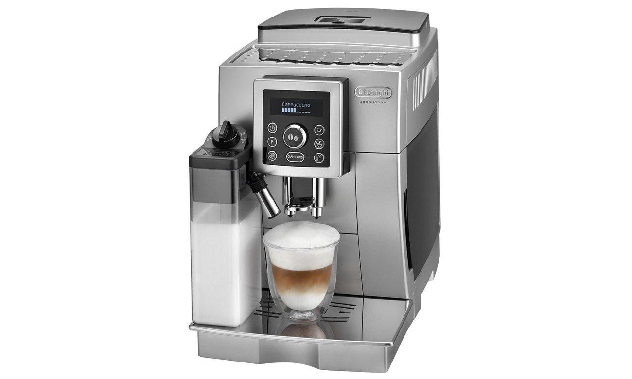 Ekspres automatyczny ciśnieniowy do kawy DeLonghi ECAM 23.460.S 1450W 15bar