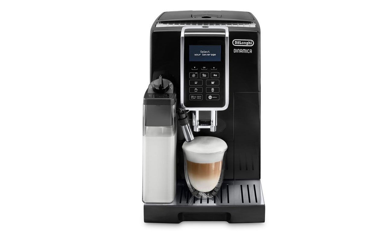 nowoczesny system grzewczy ekspresie do kawy DeLonghi Dinamica ECAM 350.55.B