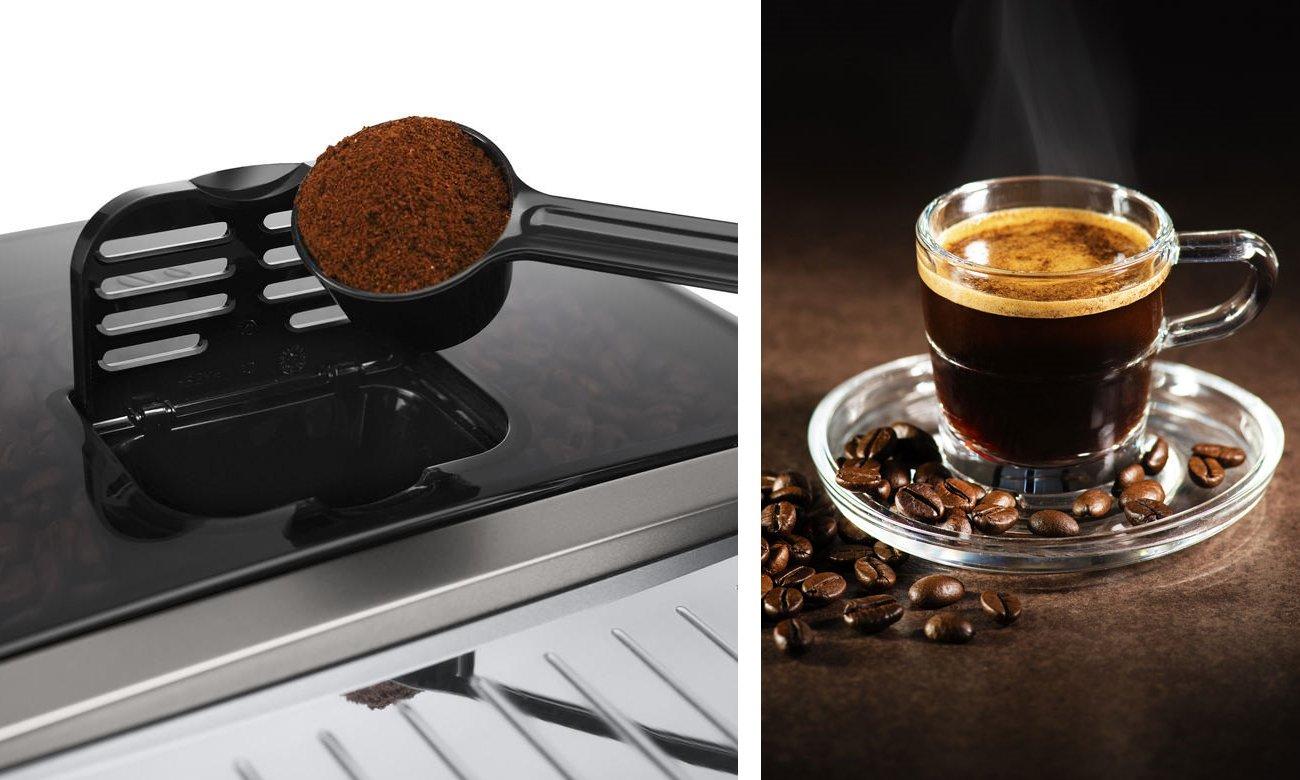 Regulowana wysokość adaptera do kawy - filiżanki aż do 13,5 cm wysokości