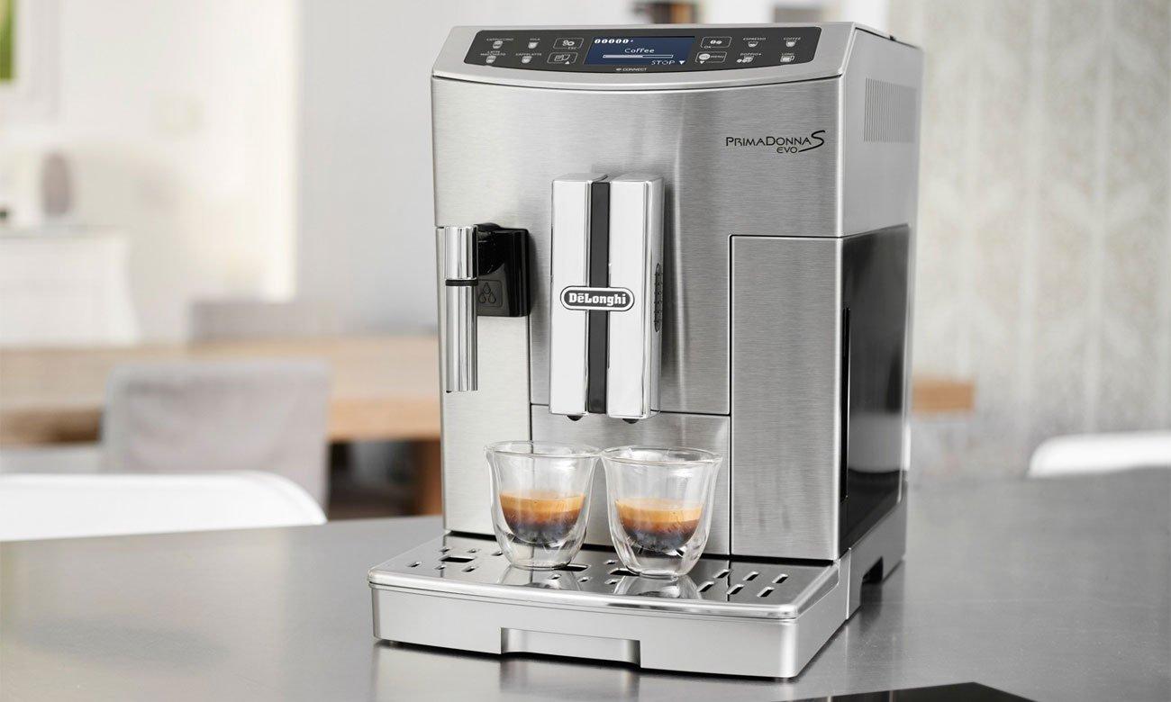 Automatyczny ekspres do kawy DeLonghi PrimaDonna S Evo 510.55.M