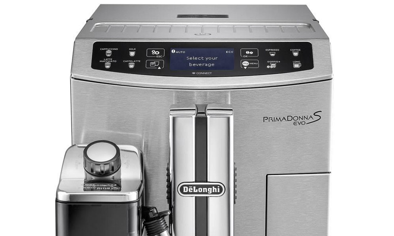 Давление эспрессо DeLonghi PrimaDonna S Evo 510.55.M