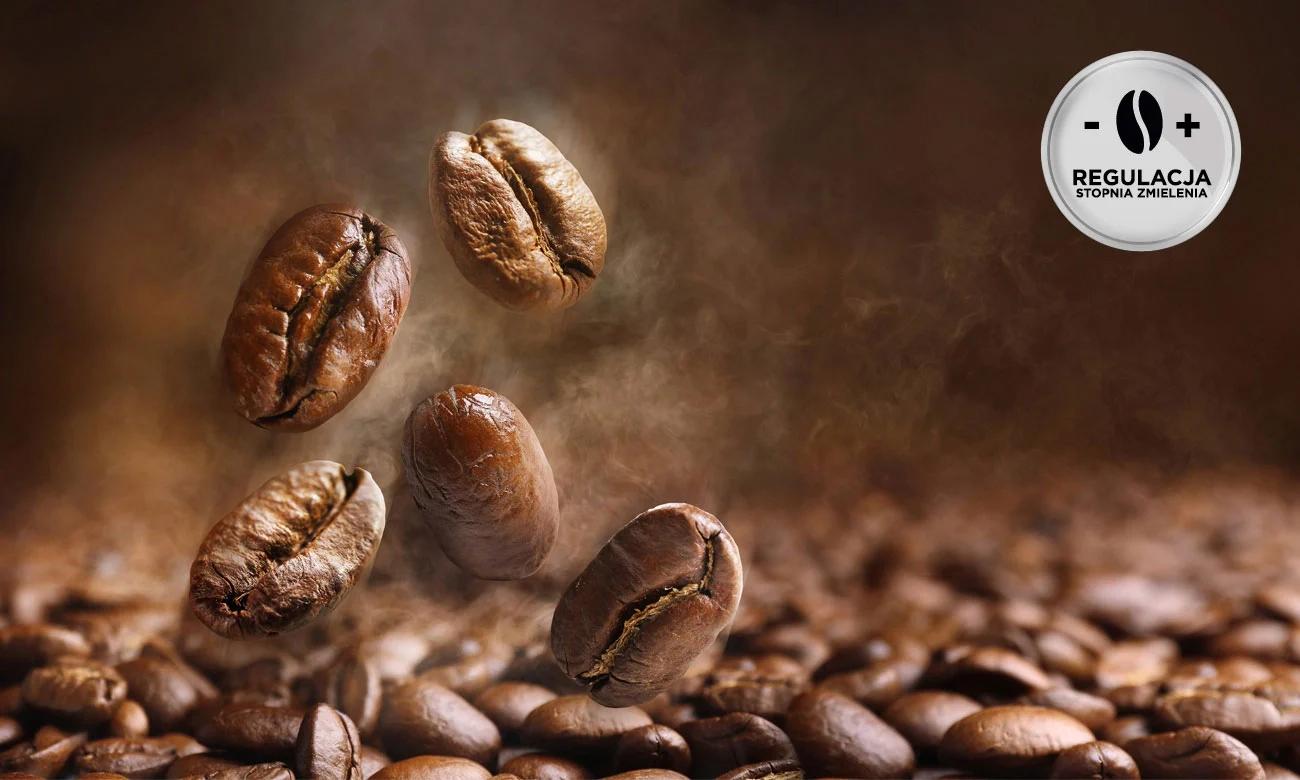 Ekspres do kawy DeLonghi ESAM 420.40.B Perfecta EVO ma wytrzymały młynek z regulacją mielenia