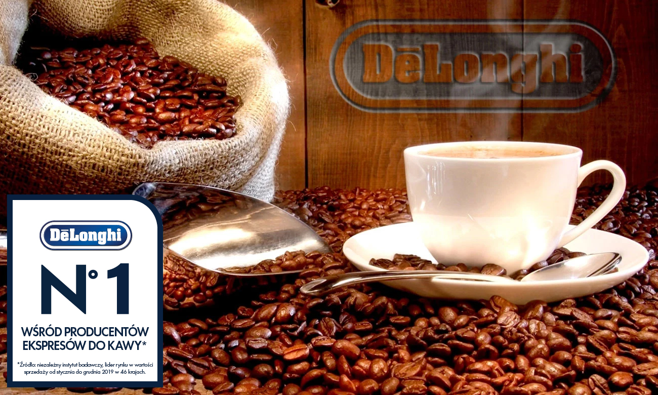 Wstąp do niezwykłego świata kawy z marką De'Longhi
