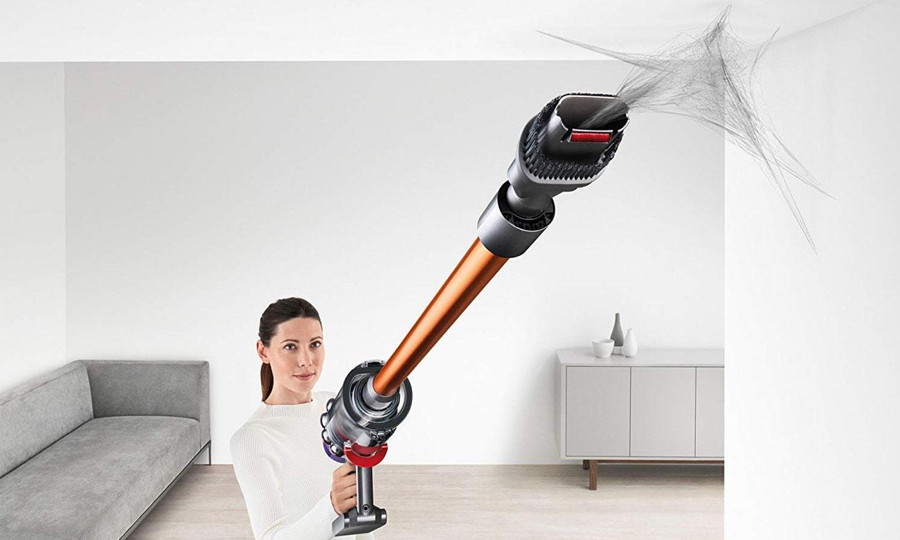 Doskonałe efekty sprzątania dzięki Dyson V10 Absolute