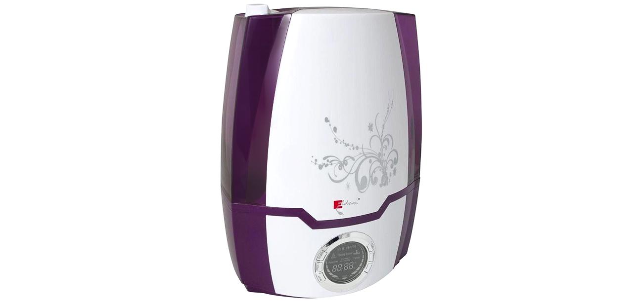 Nawilżacz powietrza Eldom NU5 5,2l biało-fioletowy duża pojemność, wysoka wydajność