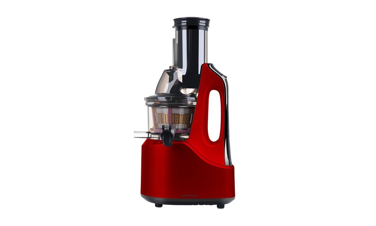 Wyciskarka wolnoobrotowa Eldom PJ1200 czerwona