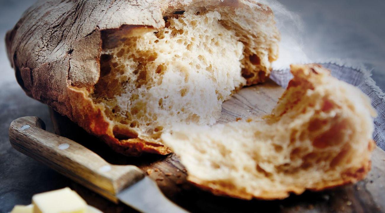 Kuchnia Electrolux EKK54953OW wypiekł taki chleb