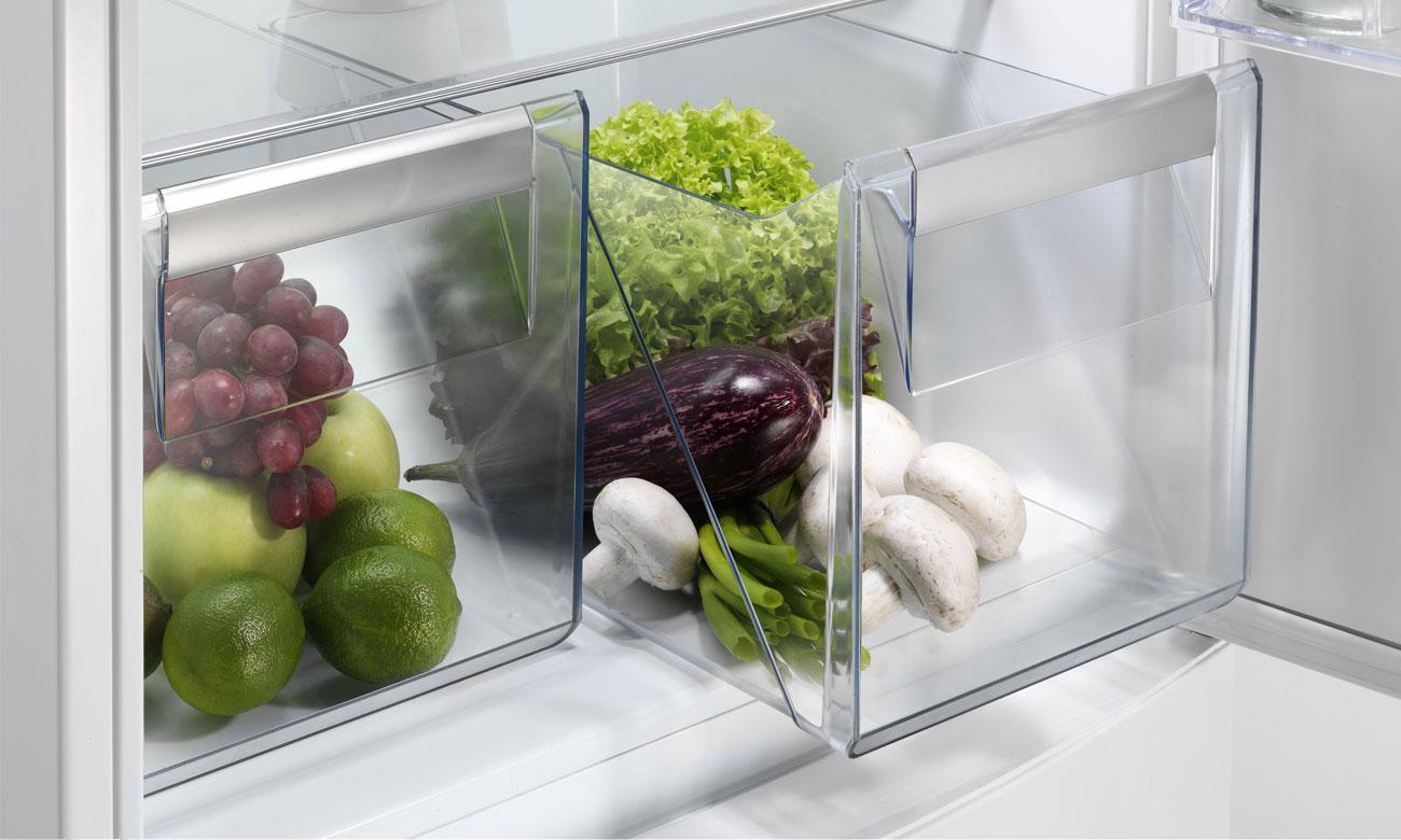 Pojemniki na owoce i warzywa w lodówce Electrolux ERN2201BOW