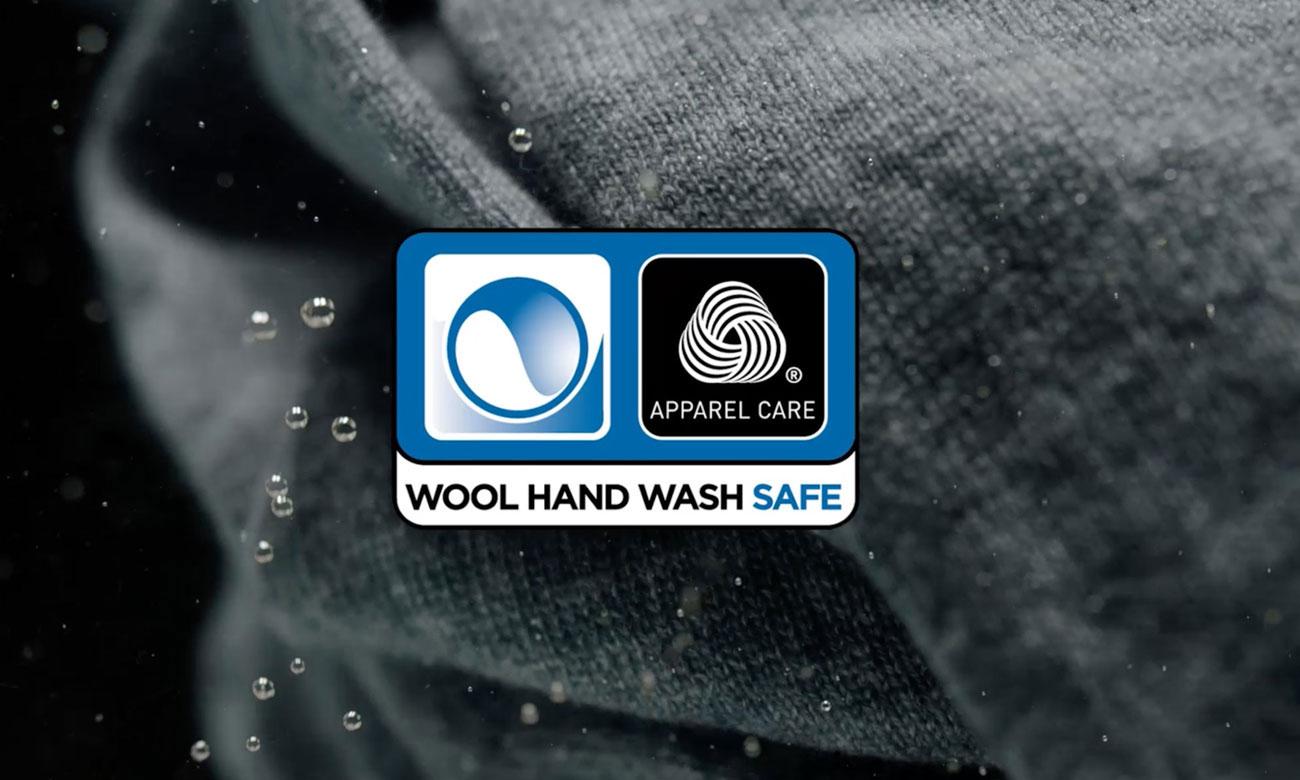 Ochrona wełnianych tkanin, dzięki Certyfikatowi Woolmark w pralce Electrolux EWT1062IFW