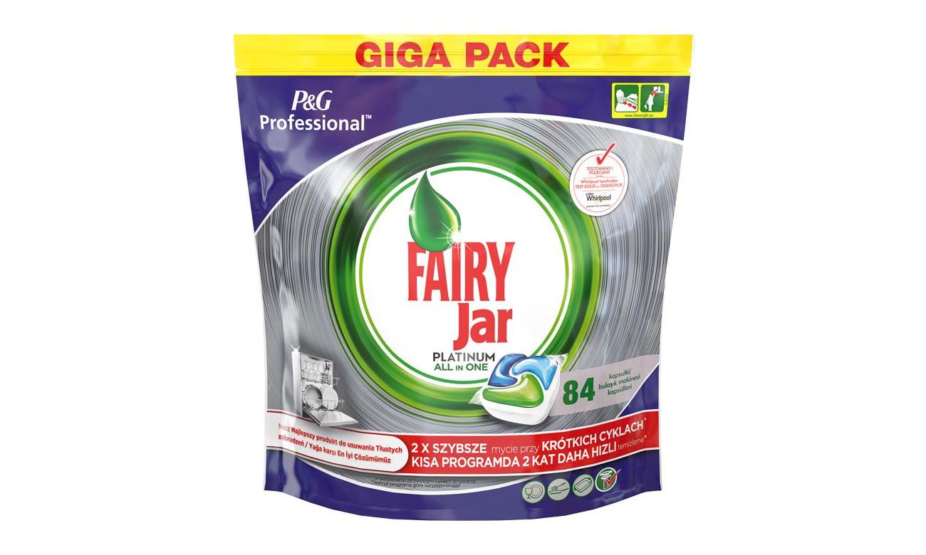 Fairy Kapsułki do zmywarki Professional Platinium 84szt 8001090167224