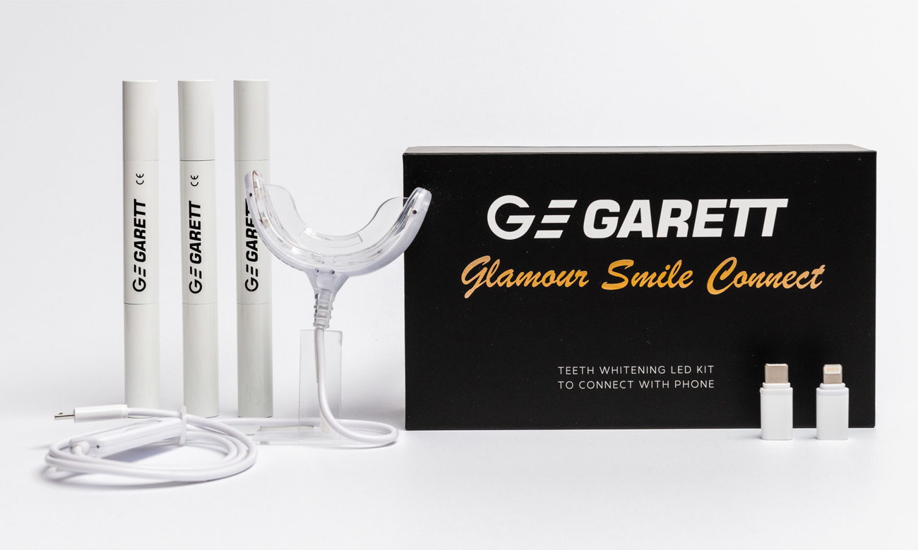 Garett Lampa do wybielania zębów Glamour Smile Connect 5903246289466