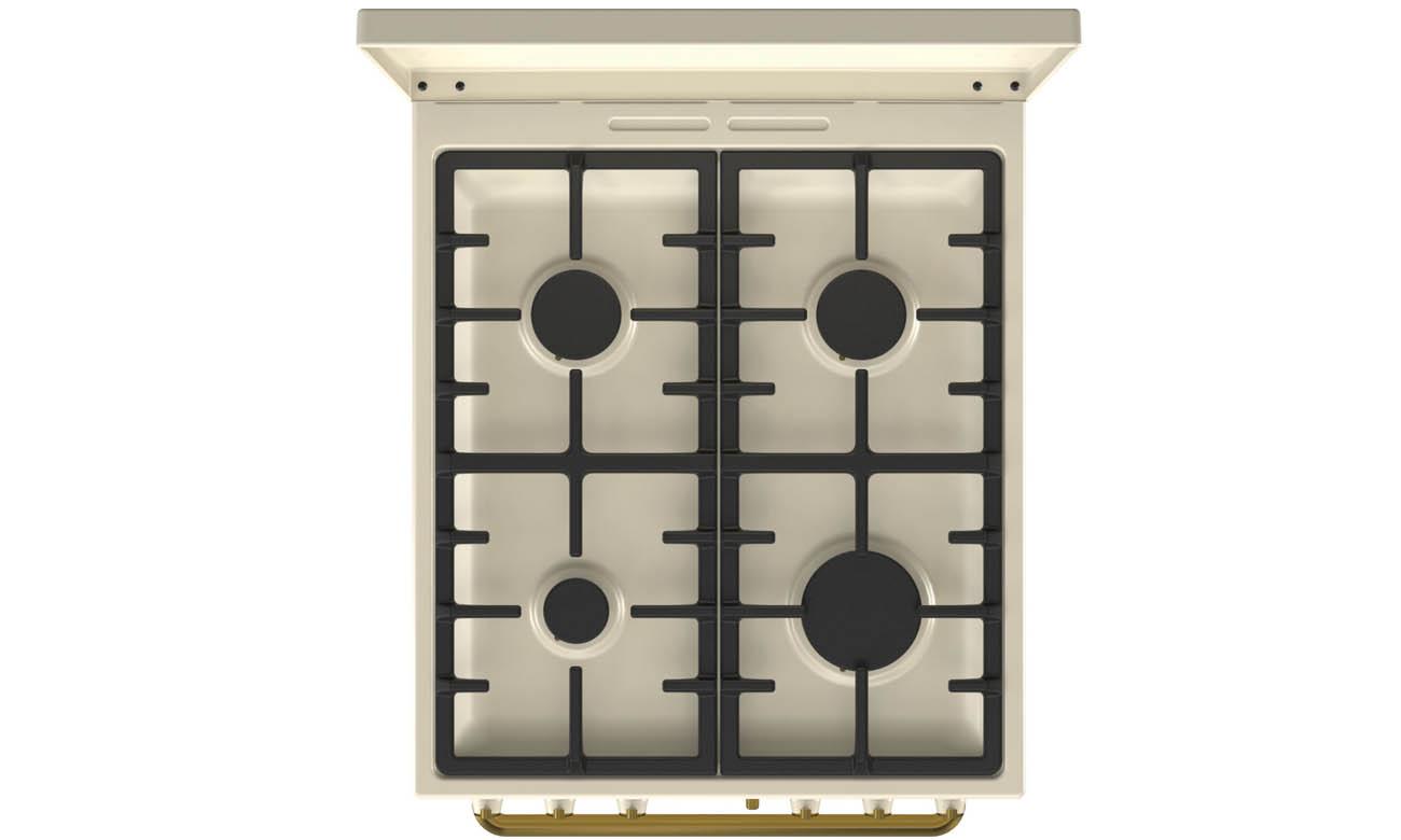 Kuchenka Gorenje K52CLI z zabezpieczeniem przeciwwypływowym gazu