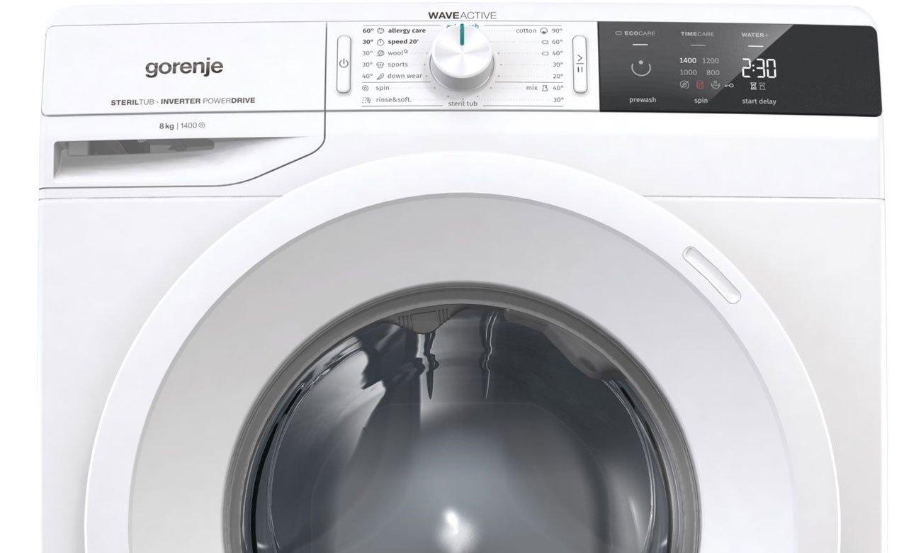 Funkcja AutoWash w pralce Gorenje WEI843
