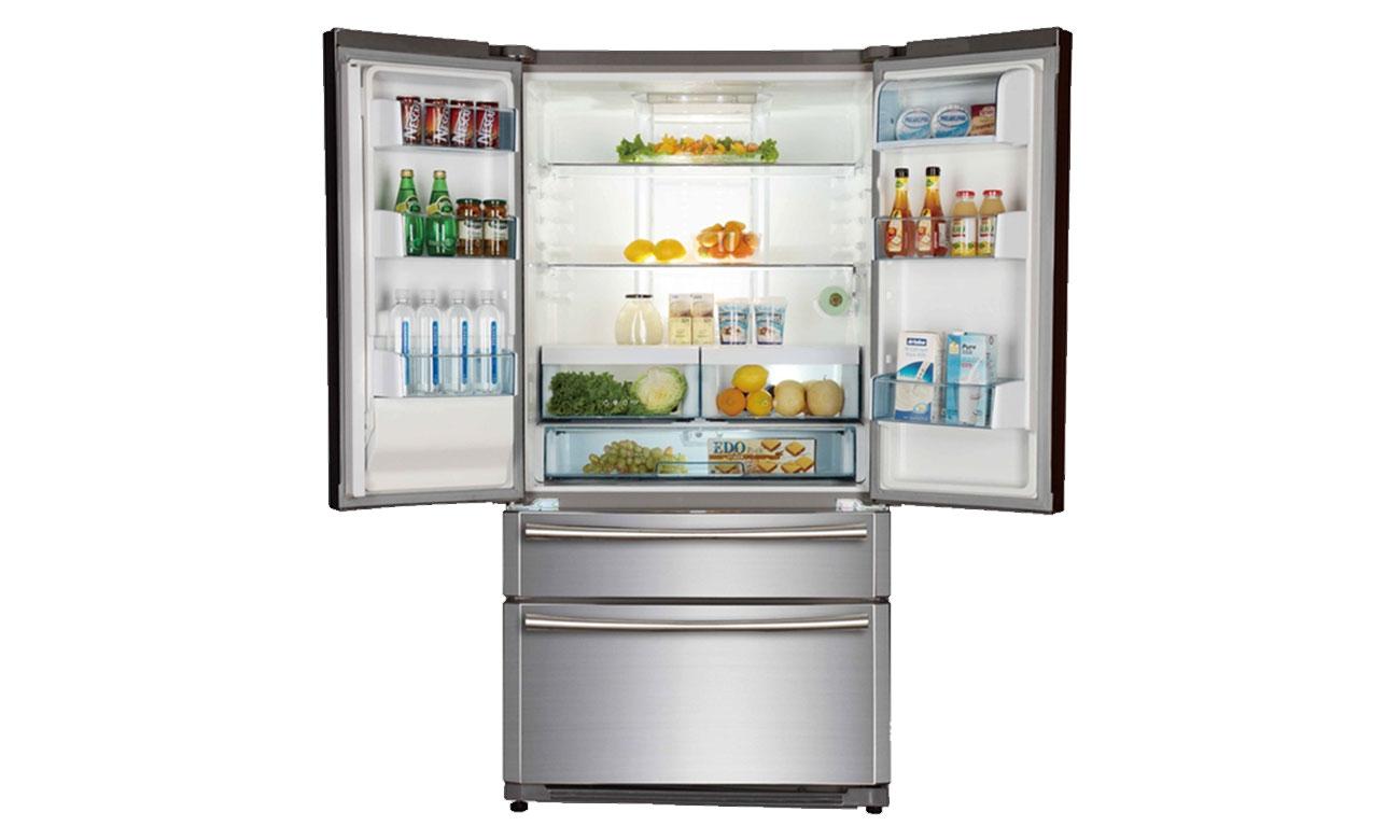 Ponad 500 litrów pojemności w lodówce Haier HB22FWRSSAA