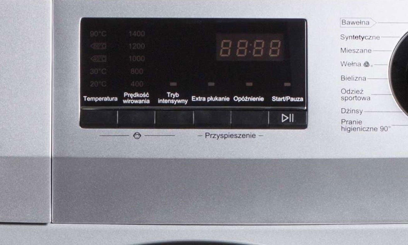 Wyświetlacz LCD w pralce Haier HW100-14636S