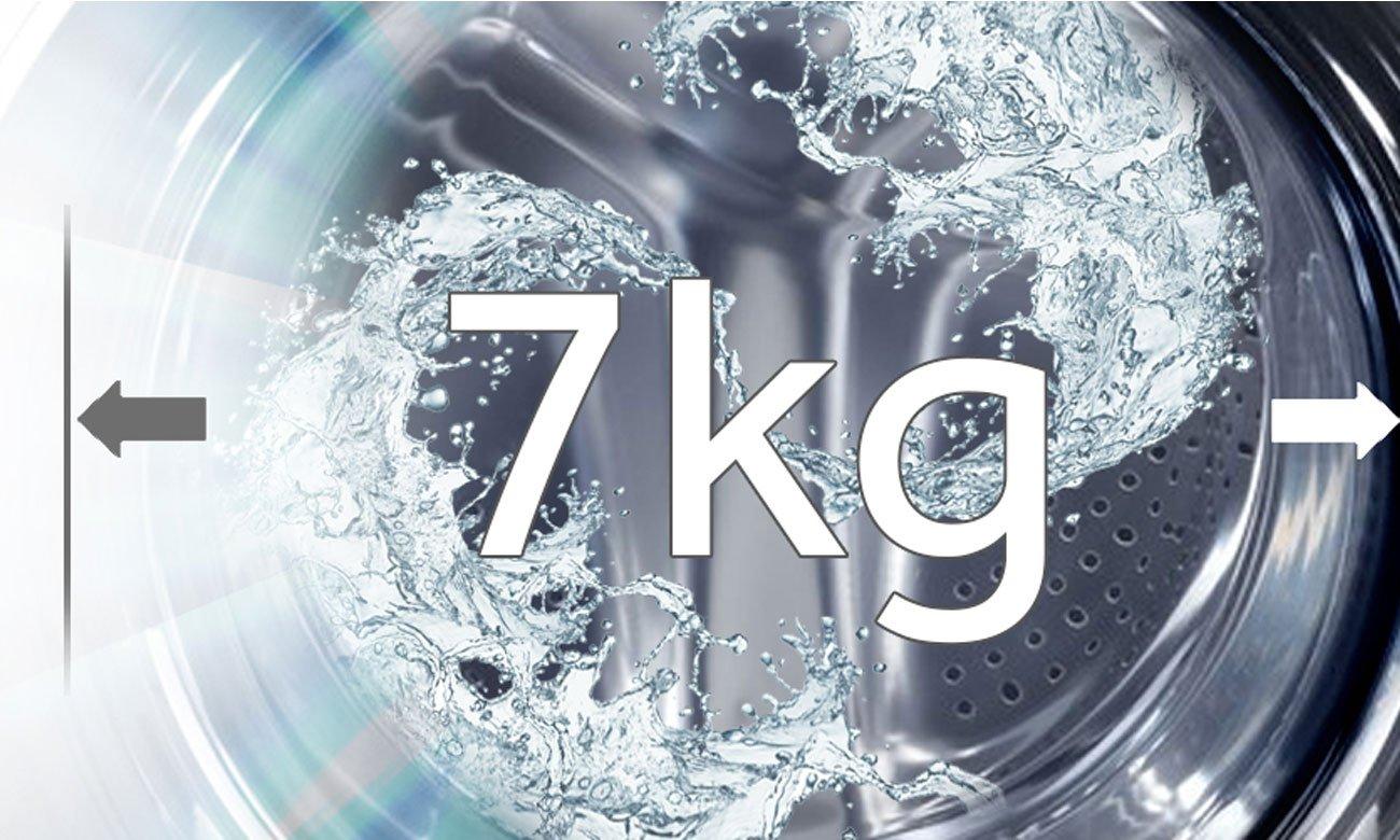 Pojemność 7 kg w pralce Haier HW70-14636S