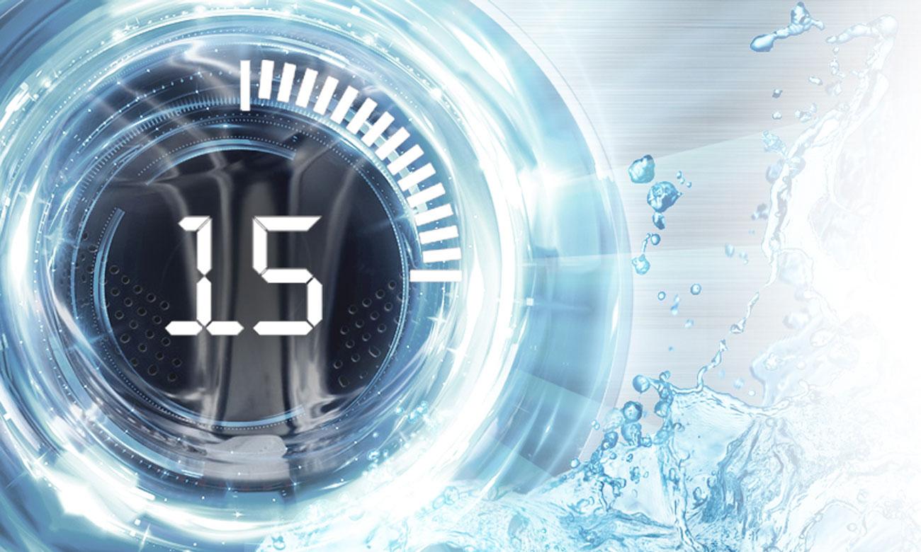 Program do szybkiego prania w pralko-suszarce Haier HWD70-1260CD4