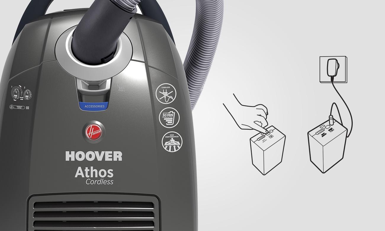 Hoover Athos ATC18LI 011 z regulacją mocy