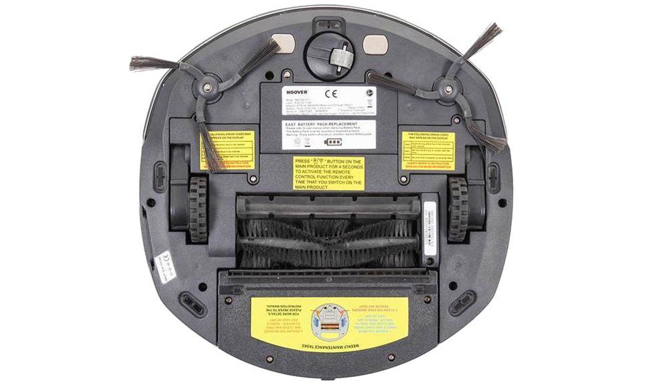 System szczotek w odkurzaczu automatycznym Hoover RBC040/1 011