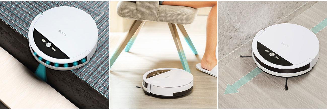 Robot sprzątający Ilife V4 ma funkcję planowania czyszczenia