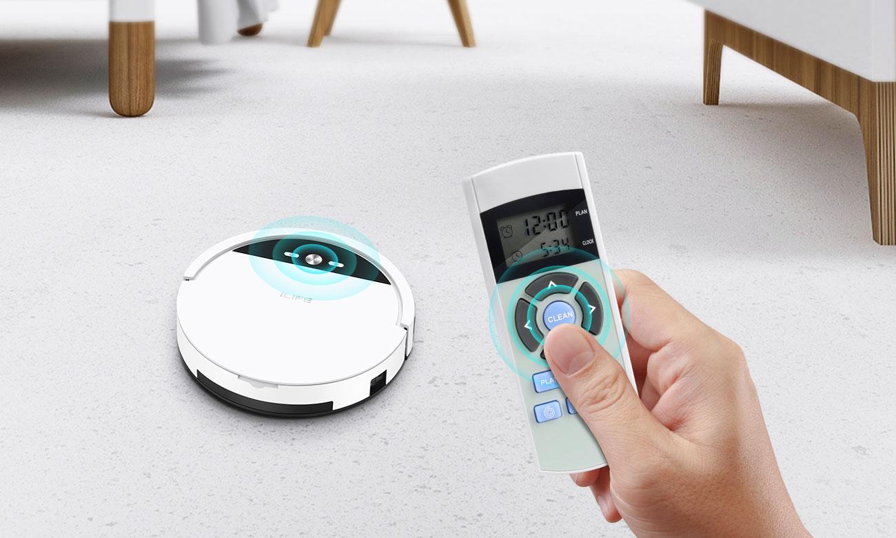 Robot sprzątający Ilife V4 zapewnia skuteczne czyszczenie