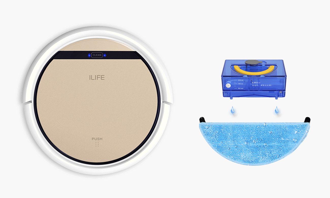 Robot sprzątający Ilife V5s Pro ma 4 tryby czyszczenia