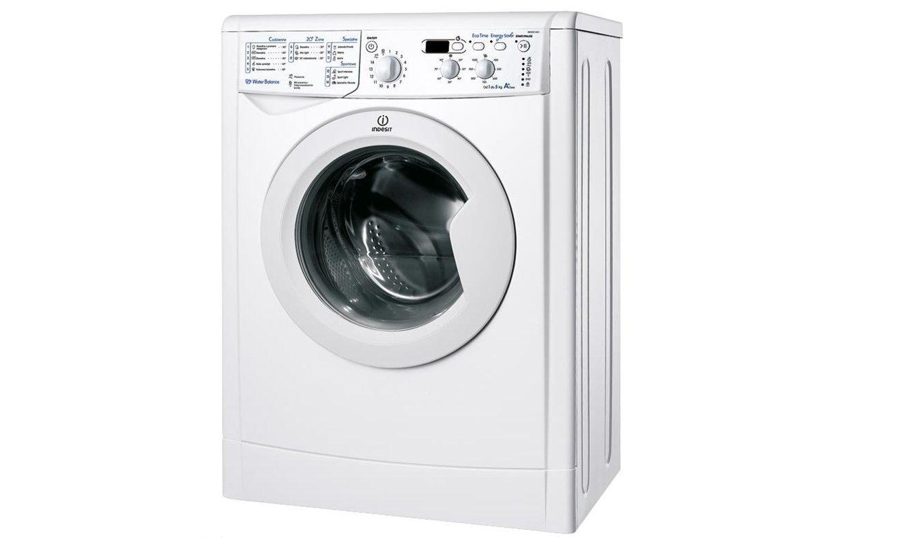 Pranie delikatnych tkanin w pralce Indesit IWSD 51051 C ECO PL