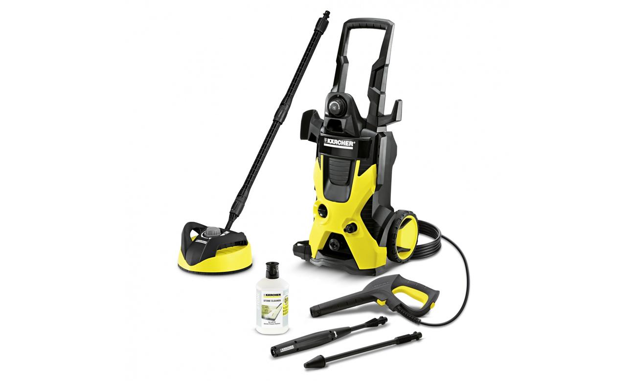Myjka ciśnieniowa mop parowy Karcher K 5 Dom T250 1.180-637.0