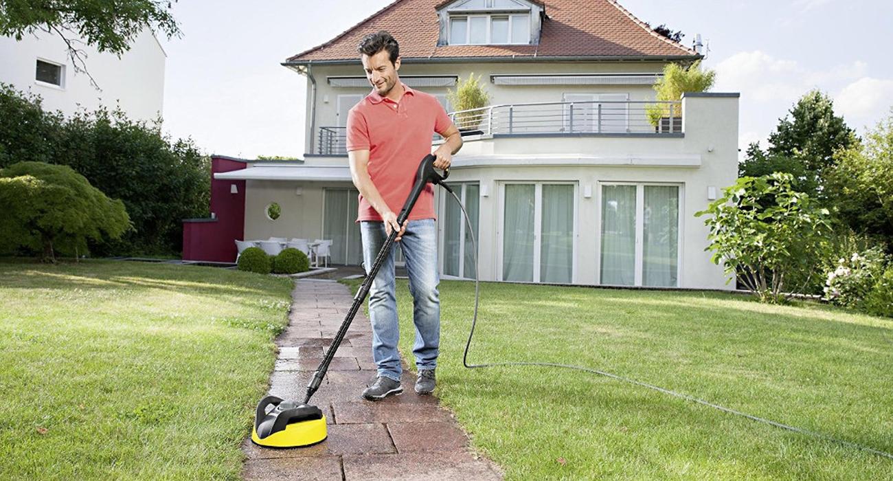 Karcher K 5 Dom T250 1.180-637.0 czyści niemal każdy rodzaj powierzchni