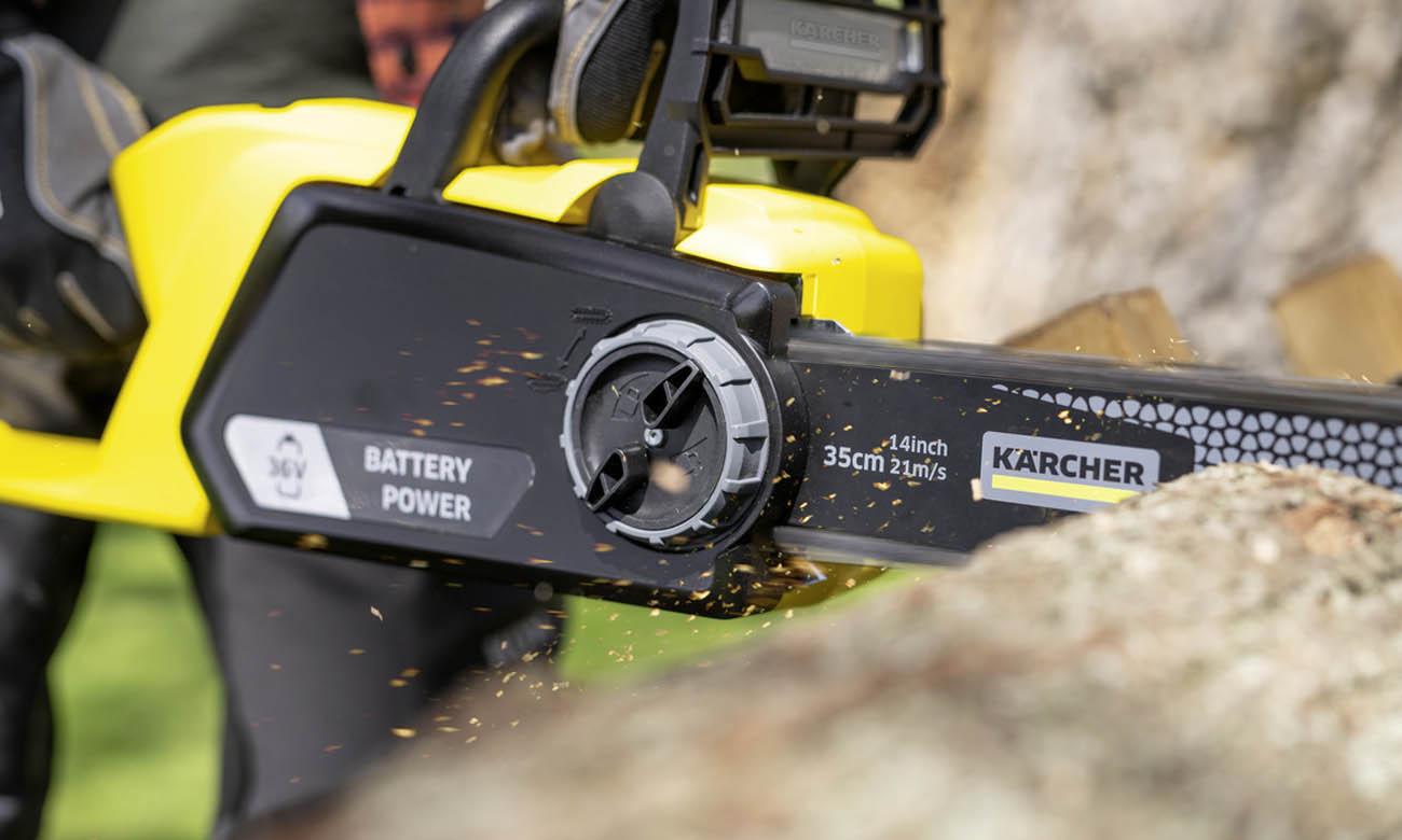 Bezprzewodowa piła łańcuchowa Karcher CNS 36-35 Battery 18 V 1.444-050.0</h2>