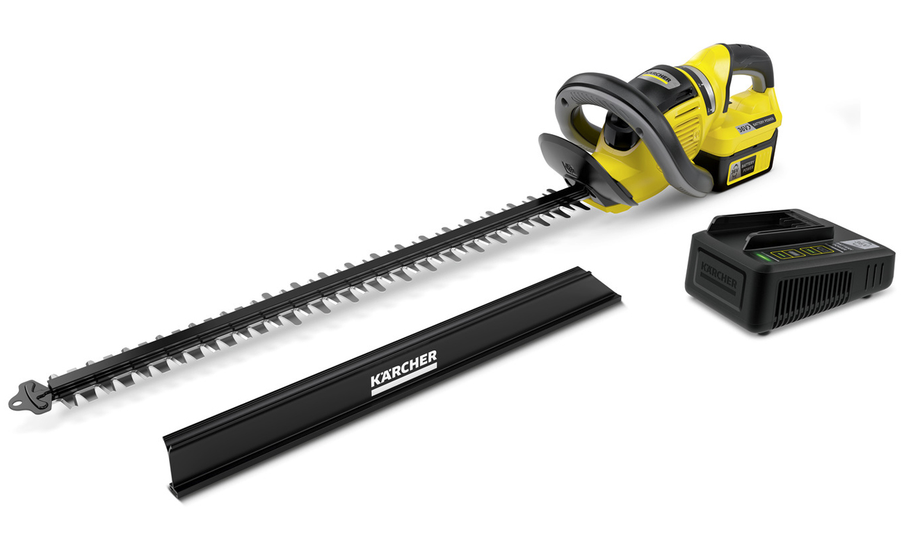 Nożyce akumulatorowe Karcher HGE 36-60 Battery Set 1.444-251.0