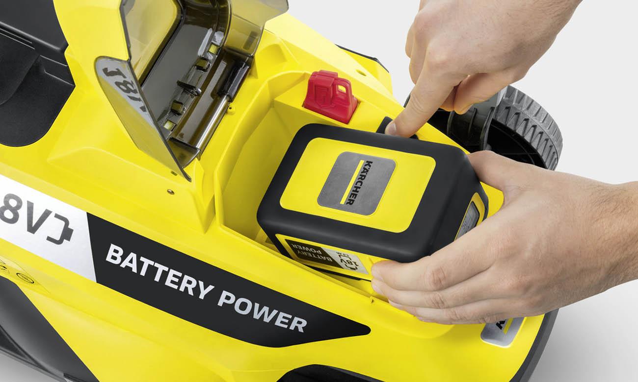 Kosiarka bezprzewodowa Karcher LMO 18-33 Battery 18 V 1.444-400.0