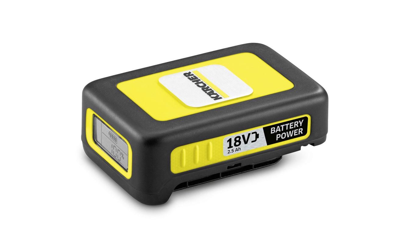 Bezprzewodowy elektryczny wycinak Karcher WRE 4 Battery Set ma wymienną baterię 18 V