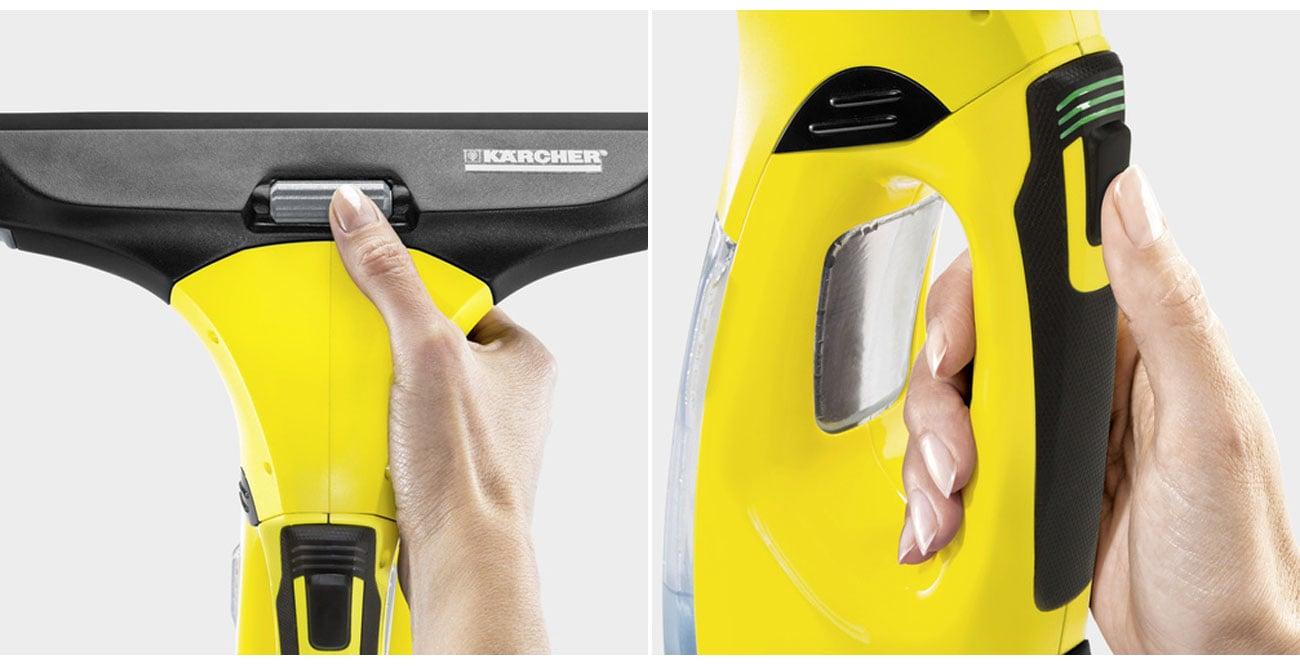 Myjka do okien Karcher WV 5 Premium ma regulowaną ssawkę