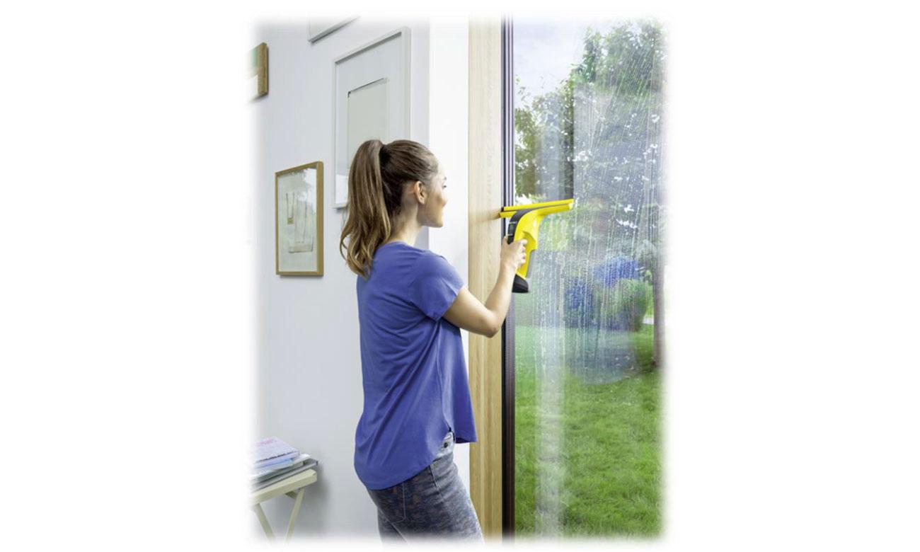 łatwa obsługa myjki do okien Karcher WV 6 Plus