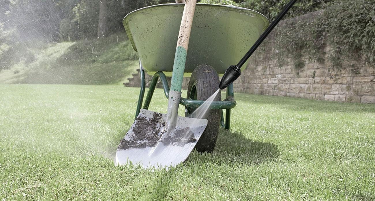 Myjka Karcher K 2 Premium Full Control gwarantuje precyzyjne czyszczenie