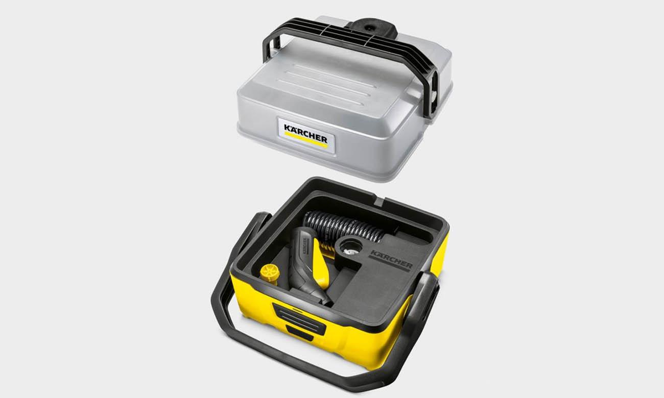 Przenośna myjka ciśnieniowa Karcher OC 3 Pet 1.680-004.0