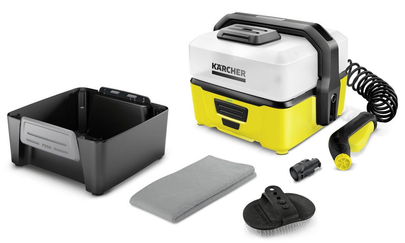 Przenośna myjka ciśnieniowa Karcher OC 3 + Pet Box 1.680-004.0
