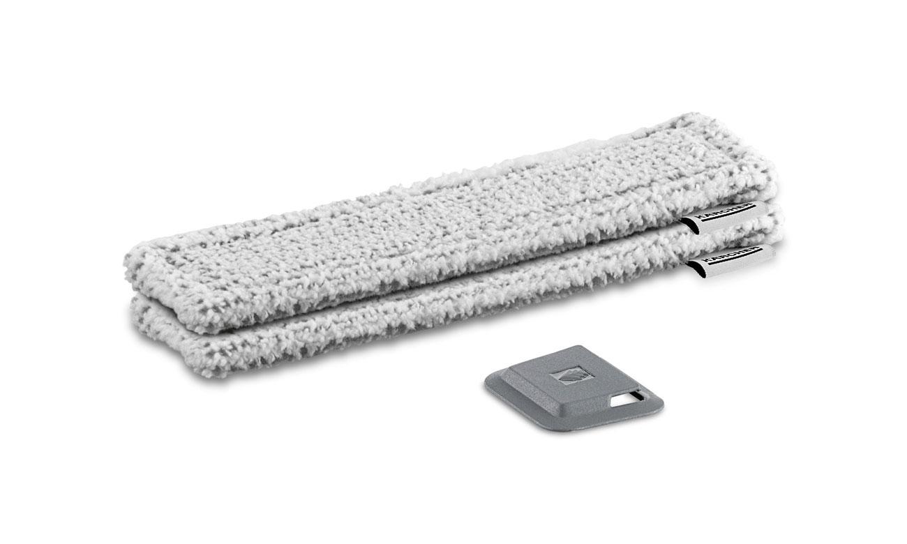 Karcher Pad z mikrofibry do WV szary (na zewnątrz) 2.633-131.0