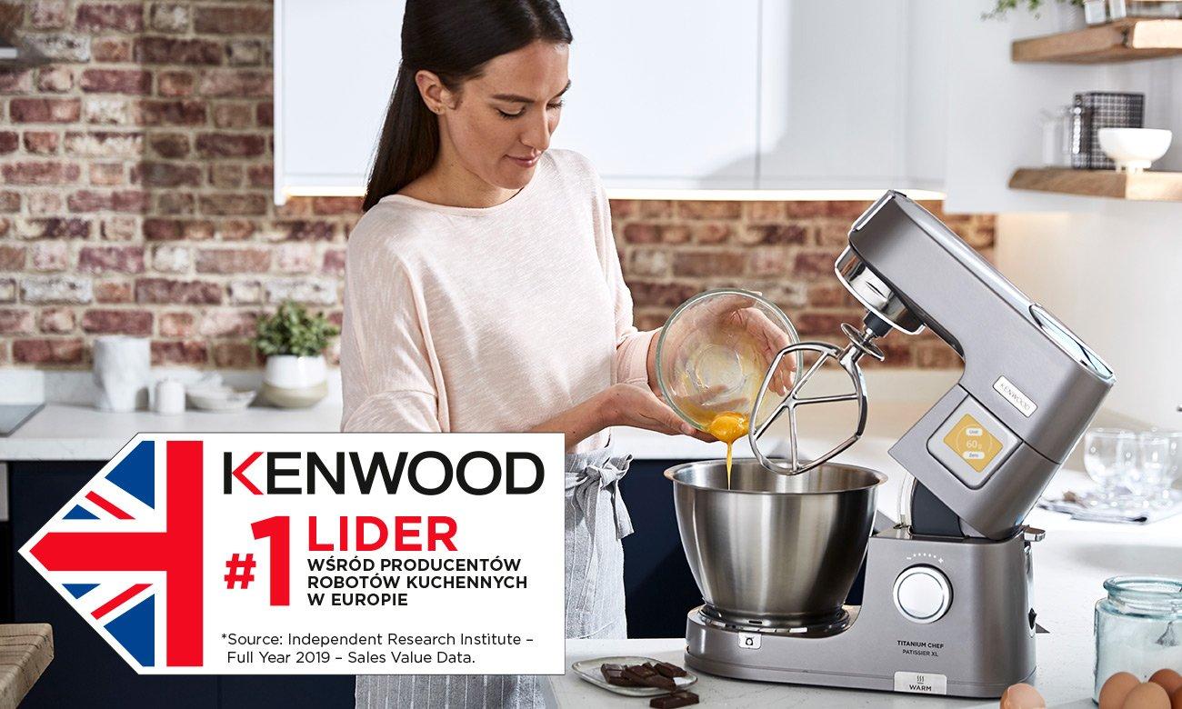 Kenwood lider wśród producentów robotów kuchennych w Europie